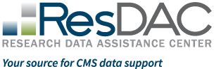 RESDAC Research Data Assistance Center. Your source for CMS data support